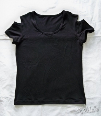 Schulter-T-Shirt